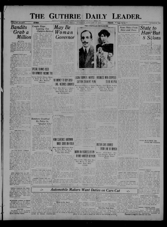 3c05c0b8ae1 The Guthrie Daily Leader. (Guthrie