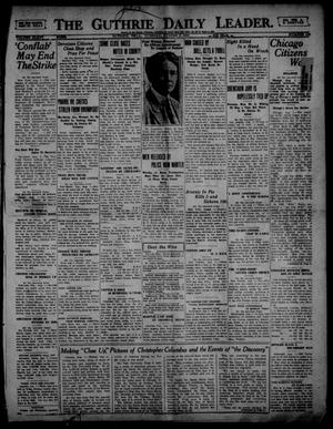 Primary view of The Guthrie Daily Leader. (Guthrie, Okla.), Vol. 54, No. 115, Ed. 1 Tuesday, August 1, 1922