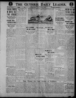 Primary view of object titled 'The Guthrie Daily Leader. (Guthrie, Okla.), Vol. 54, No. 78, Ed. 1 Tuesday, June 1, 1920'.