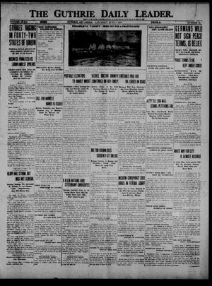 Primary view of object titled 'The Guthrie Daily Leader. (Guthrie, Okla.), Vol. 52, No. 92, Ed. 1 Saturday, June 7, 1919'.