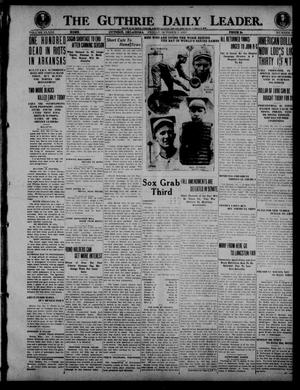 Primary view of object titled 'The Guthrie Daily Leader. (Guthrie, Okla.), Vol. 53, No. 32, Ed. 1 Friday, October 3, 1919'.
