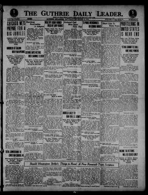 Primary view of object titled 'The Guthrie Daily Leader. (Guthrie, Okla.), Vol. 53, No. 66, Ed. 1 Saturday, November 15, 1919'.