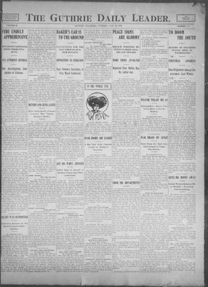 Primary view of object titled 'The Guthrie Daily Leader. (Guthrie, Okla.), Vol. 25, No. 101, Ed. 1, Tuesday, May 23, 1905'.