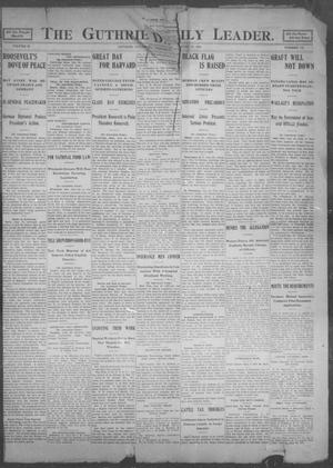Primary view of object titled 'The Guthrie Daily Leader. (Guthrie, Okla.), Vol. 25, No. 132, Ed. 1, Wednesday, June 28, 1905'.