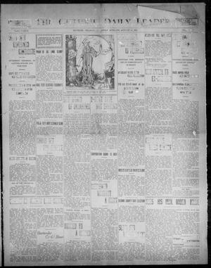 Primary view of object titled 'The Guthrie Daily Leader. (Guthrie, Okla.), Vol. 31, No. 78, Ed. 1, Friday, August 14, 1908'.