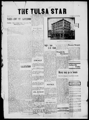 Primary view of object titled 'The Tulsa Star (Tulsa, Okla.), Vol. 1, No. 24, Ed. 1, Friday, April 11, 1913'.
