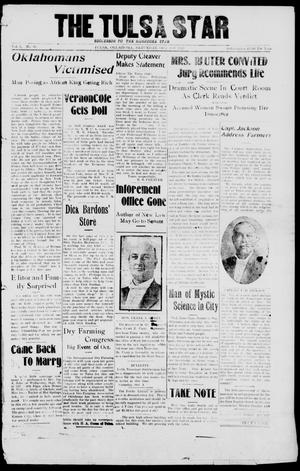 Primary view of object titled 'The Tulsa Star (Tulsa, Okla.), Vol. 1, No. 48, Ed. 1, Saturday, October 4, 1913'.