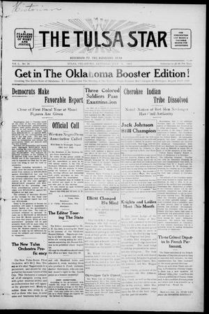Primary view of object titled 'The Tulsa Star (Tulsa, Okla.), Vol. 2, No. 36, Ed. 1, Saturday, July 4, 1914'.