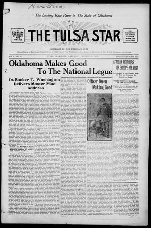 Primary view of object titled 'The Tulsa Star (Tulsa, Okla.), Vol. 2, No. 43, Ed. 1, Saturday, August 29, 1914'.