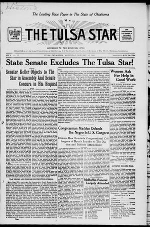 Primary view of object titled 'The Tulsa Star (Tulsa, Okla.), Vol. 3, No. 12, Ed. 1, Saturday, January 23, 1915'.