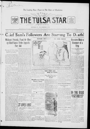 Primary view of object titled 'The Tulsa Star (Tulsa, Okla.), Vol. 3, No. 24, Ed. 1, Saturday, May 1, 1915'.