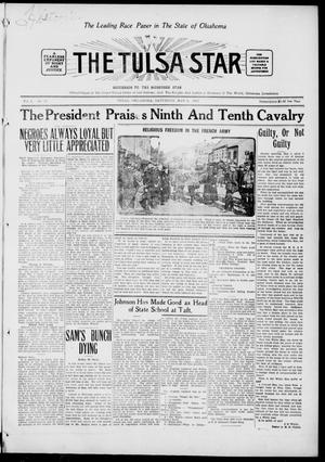 Primary view of object titled 'The Tulsa Star (Tulsa, Okla.), Vol. 3, No. 25, Ed. 1, Saturday, May 8, 1915'.