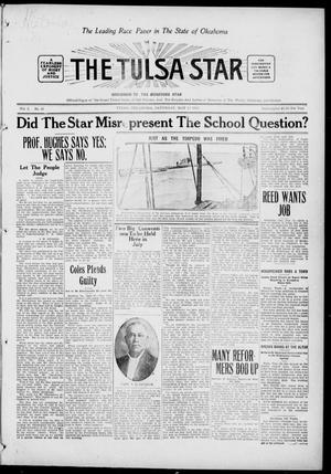 Primary view of object titled 'The Tulsa Star (Tulsa, Okla.), Vol. 3, No. 26, Ed. 1, Saturday, May 15, 1915'.