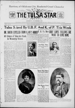 Primary view of object titled 'The Tulsa Star (Tulsa, Okla.), Vol. 3, No. 35, Ed. 1, Saturday, July 17, 1915'.