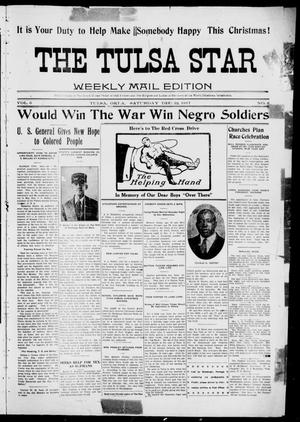Primary view of object titled 'The Tulsa Star (Tulsa, Okla.), Vol. 6, No. 8, Ed. 1, Saturday, December 22, 1917'.