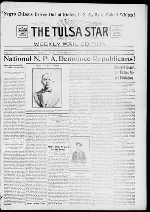 Primary view of object titled 'The Tulsa Star (Tulsa, Okla.), Vol. 6, No. 16, Ed. 1, Saturday, February 23, 1918'.