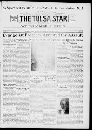 Primary view of object titled 'The Tulsa Star (Tulsa, Okla.), Vol. 6, No. 18, Ed. 1, Saturday, March 9, 1918'.