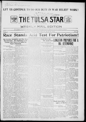 Primary view of object titled 'The Tulsa Star (Tulsa, Okla.), Vol. 6, No. 27, Ed. 1, Saturday, May 18, 1918'.