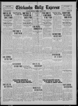 Primary view of object titled 'Chickasha Daily Express (Chickasha, Okla.), Vol. 23, No. 109, Ed. 1 Tuesday, August 22, 1922'.