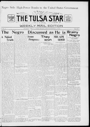 Primary view of object titled 'The Tulsa Star (Tulsa, Okla.), Vol. 6, No. 43, Ed. 1, Saturday, September 21, 1918'.