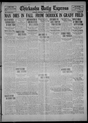 Primary view of object titled 'Chickasha Daily Express (Chickasha, Okla.), Vol. 23, No. 207, Ed. 1 Friday, December 15, 1922'.