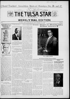 Primary view of object titled 'The Tulsa Star (Tulsa, Okla.), Vol. 8, No. 6, Ed. 1, Saturday, December 14, 1918'.