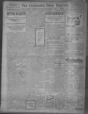 Primary view of object titled 'The Chickasha Daily Express (Chickasha, Indian Terr.), Vol. 10, No. 201, Ed. 1 Tuesday, September 3, 1901'.