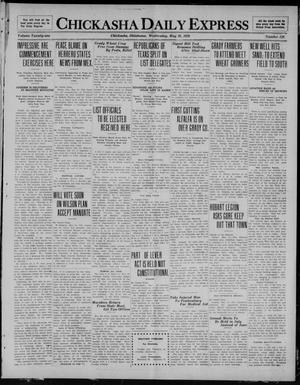 Primary view of object titled 'Chickasha Daily Express (Chickasha, Okla.), Vol. 21, No. 126, Ed. 1 Wednesday, May 26, 1920'.