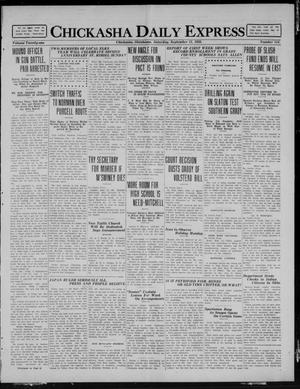 Primary view of object titled 'Chickasha Daily Express (Chickasha, Okla.), Vol. 21, No. 218, Ed. 1 Saturday, September 11, 1920'.