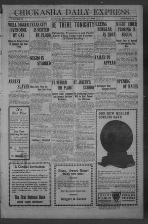 Primary view of object titled 'Chickasha Daily Express. (Chickasha, Okla.), Vol. 10, No. 142, Ed. 1 Tuesday, June 15, 1909'.
