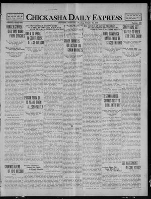 Primary view of object titled 'Chickasha Daily Express (Chickasha, Okla.), Vol. 21, No. 255, Ed. 1 Monday, October 25, 1920'.