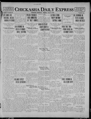 Primary view of object titled 'Chickasha Daily Express (Chickasha, Okla.), Vol. 21, No. 165, Ed. 1 Monday, July 12, 1920'.