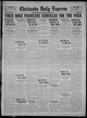 Primary view of Chickasha Daily Express (Chickasha, Okla.), Vol. 23, No. 168, Ed. 1 Tuesday, October 31, 1922