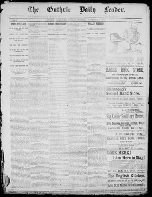 The Guthrie Daily Leader. (Guthrie, Okla.), Vol. 1, No. 248, Ed. 1, Tuesday, September 19, 1893