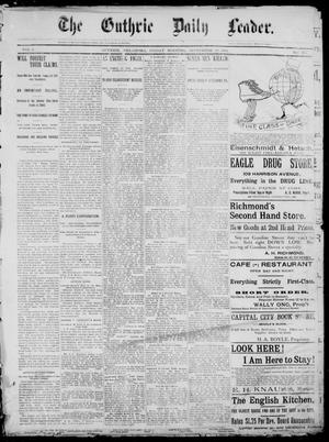 The Guthrie Daily Leader. (Guthrie, Okla.), Vol. 1, No. 251, Ed. 1, Friday, September 22, 1893