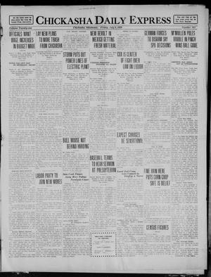 Primary view of object titled 'Chickasha Daily Express (Chickasha, Okla.), Vol. 21, No. 163, Ed. 1 Friday, July 9, 1920'.