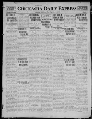 Primary view of object titled 'Chickasha Daily Express (Chickasha, Okla.), Vol. 21, No. 1, Ed. 1 Thursday, January 1, 1920'.