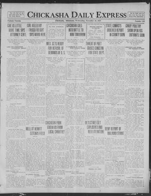 Primary view of object titled 'Chickasha Daily Express (Chickasha, Okla.), Vol. 20, No. 281, Ed. 1 Wednesday, November 26, 1919'.