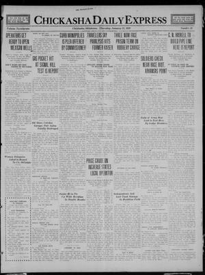 Primary view of object titled 'Chickasha Daily Express (Chickasha, Okla.), Vol. 21, No. 19, Ed. 1 Thursday, January 22, 1920'.