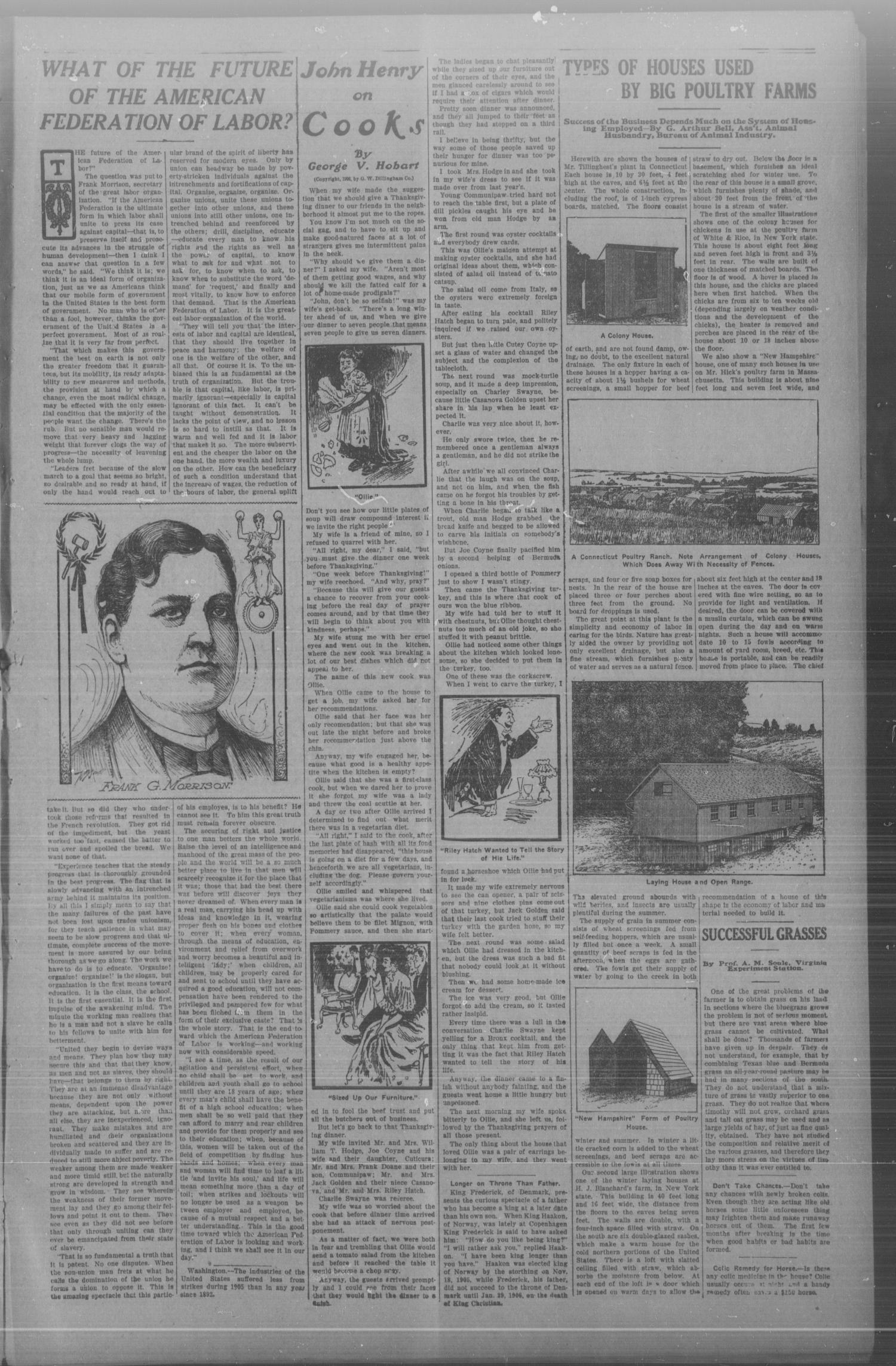 Chickasha Daily Express. (Chickasha, Indian Terr.), Vol. 8, No. 210, Ed. 1 Monday, September 9, 1907                                                                                                      [Sequence #]: 3 of 8