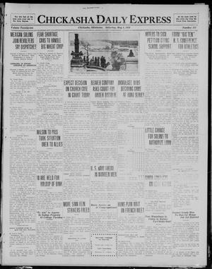 Primary view of object titled 'Chickasha Daily Express (Chickasha, Okla.), Vol. 21, No. 111, Ed. 1 Saturday, May 8, 1920'.