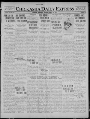 Primary view of object titled 'Chickasha Daily Express (Chickasha, Okla.), Vol. 21, No. 73, Ed. 1 Thursday, March 25, 1920'.