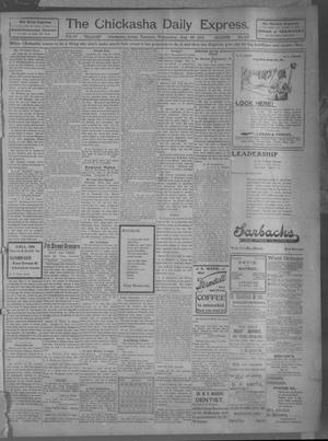 Primary view of object titled 'The Chickasha Daily Express (Chickasha, Indian Terr.), Vol. 10, No. 197, Ed. 1 Wednesday, August 28, 1901'.