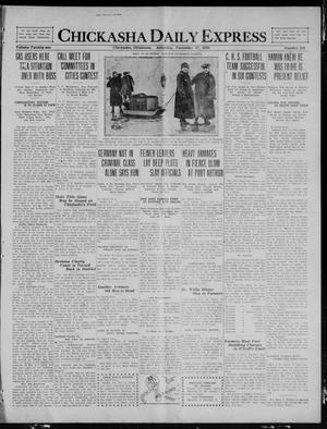 Primary view of object titled 'Chickasha Daily Express (Chickasha, Okla.), Vol. 21, No. 283, Ed. 1 Saturday, November 27, 1920'.