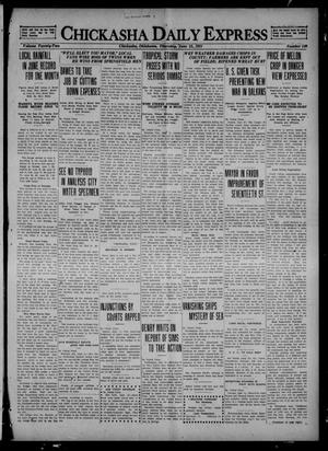Primary view of object titled 'Chickasha Daily Express (Chickasha, Okla.), Vol. 22, No. 149, Ed. 1 Thursday, June 23, 1921'.