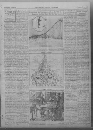 Primary view of object titled 'Chickasha Daily Express. (Chickasha, Okla.), Vol. THIRTEEN, No. 10, Ed. 1 Thursday, January 11, 1912'.