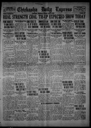 Primary view of object titled 'Chickasha Daily Express (Chickasha, Okla.), Vol. 22, No. 297, Ed. 1 Monday, April 3, 1922'.