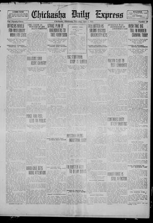 Primary view of object titled 'Chickasha Daily Express (Chickasha, Okla.), Vol. 23, No. 40, Ed. 1 Thursday, June 1, 1922'.