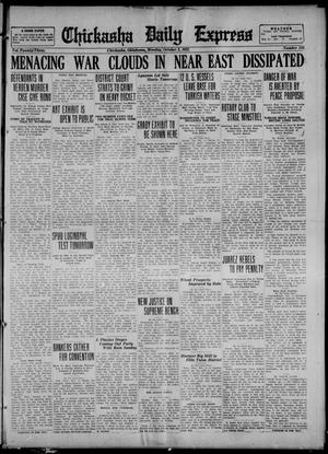 Primary view of object titled 'Chickasha Daily Express (Chickasha, Okla.), Vol. 23, No. 143, Ed. 1 Monday, October 2, 1922'.
