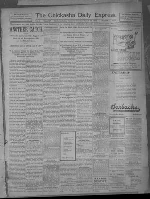 Primary view of object titled 'The Chickasha Daily Express (Chickasha, Indian Terr.), Vol. 10, No. 194, Ed. 1 Saturday, August 24, 1901'.